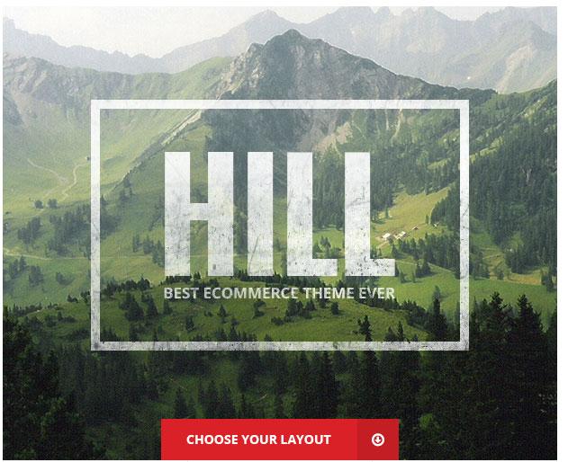 HILL - Premium Responsive WooCommerce Theme - 2