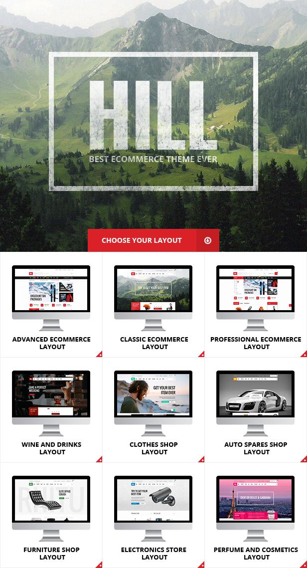 HILL - Premium Responsive WooCommerce Theme - 3
