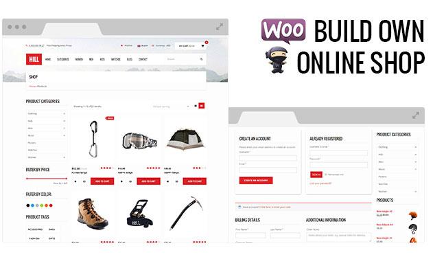 HILL - Premium Responsive WooCommerce Theme - 8