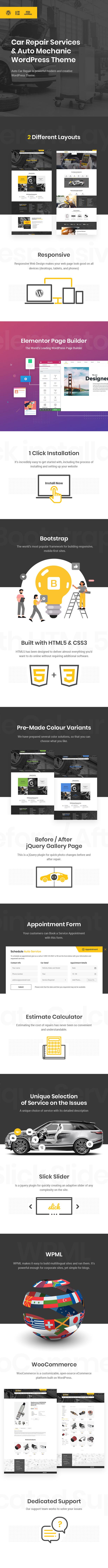 Car Repair Services & Auto Mechanic WordPress Theme - 4